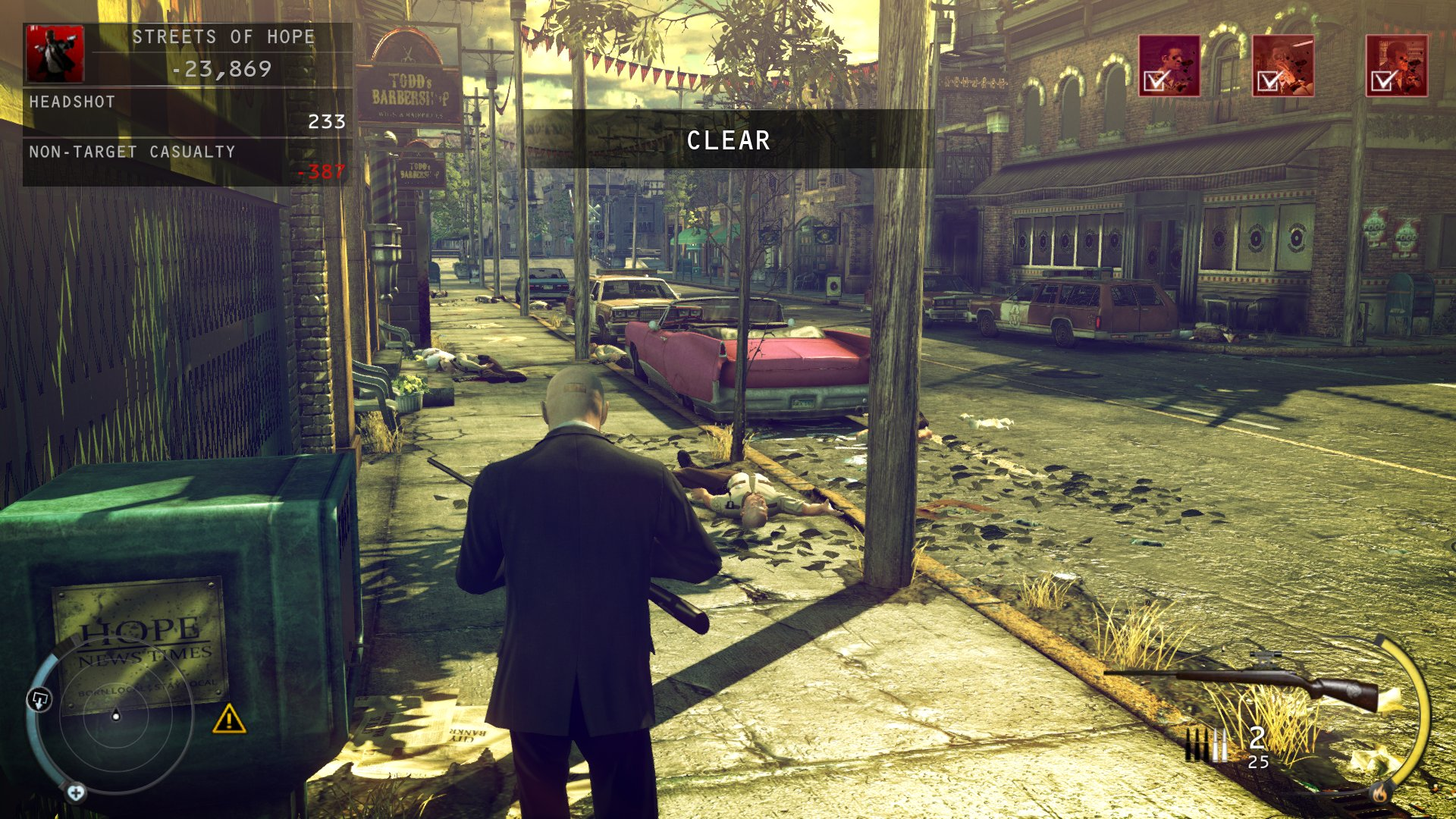 hitman absolution sceenshot