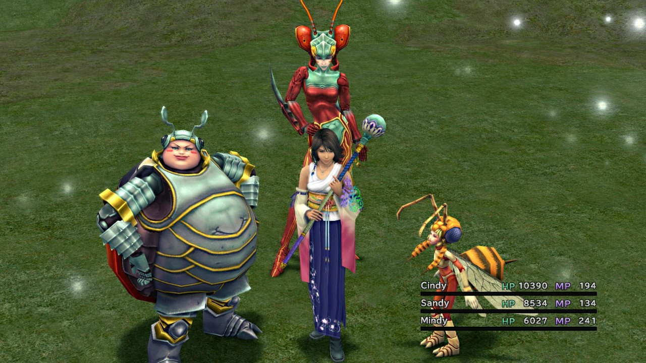 Final-Fantasy-X-X2-Remaster gameplay