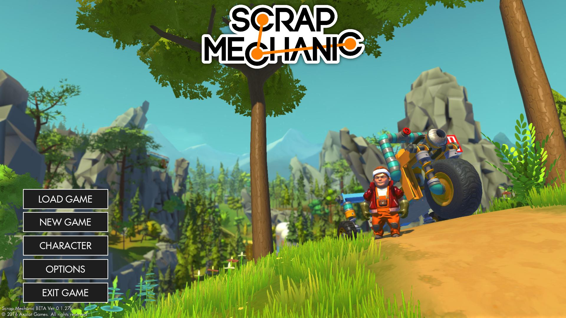 Scrap Mechanic Free Download Crohasit Download Games