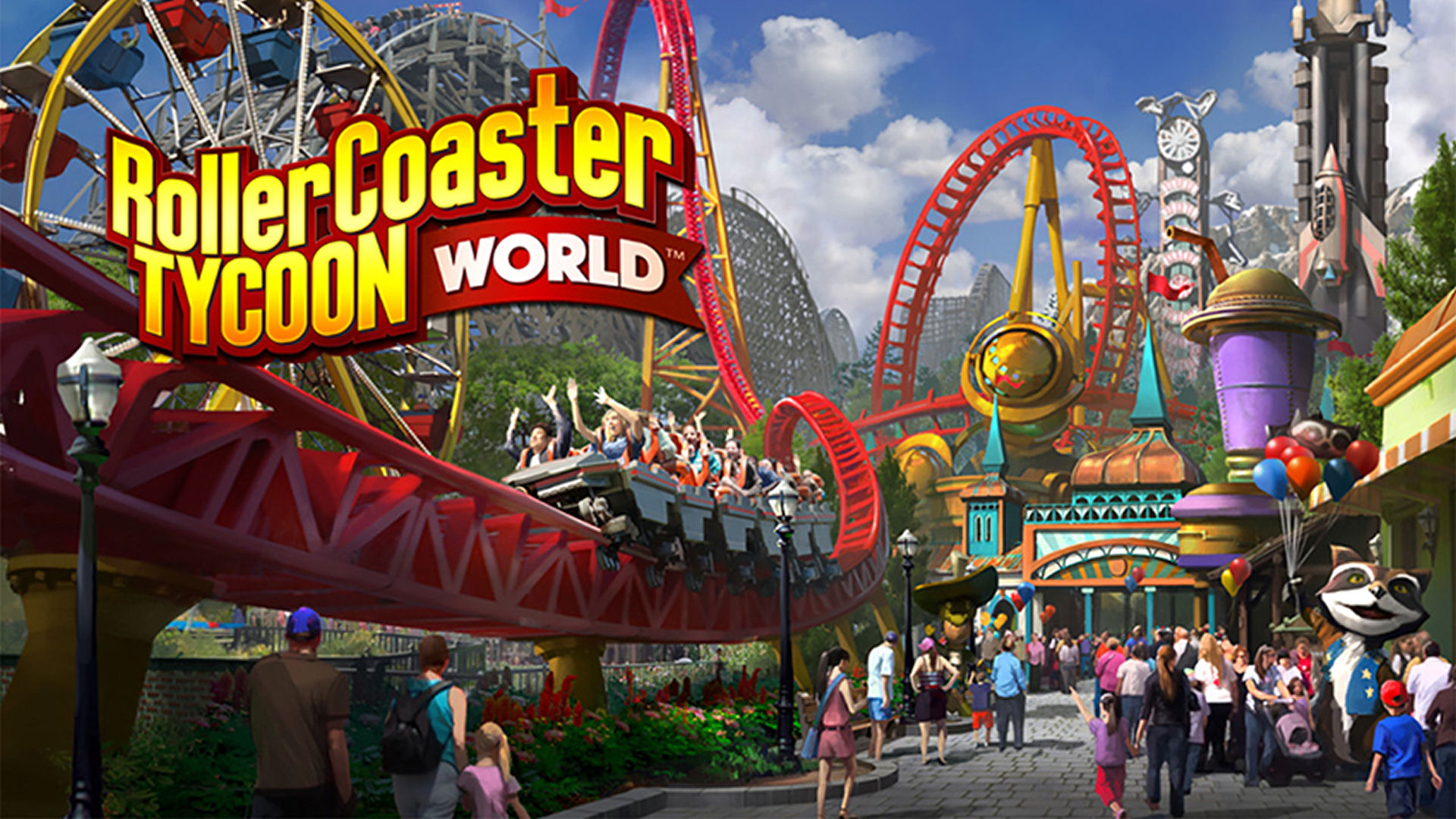 RollerCoaster Tycoon World Free Download - CroHasIt