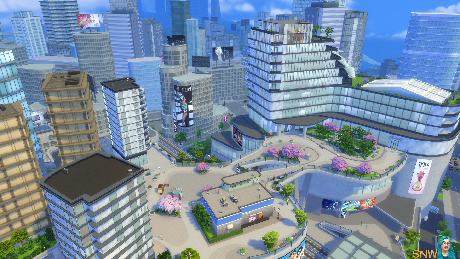 sims 4 city living free download