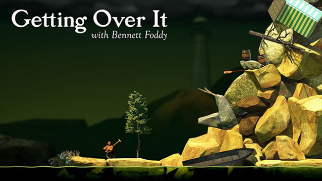 Download Getting Over it For PC - Gaming Guruji